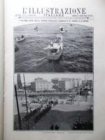 L'illustrazione Italiana 13 Settembre 1908 Circuito Bologna Telefonia Ingegnere