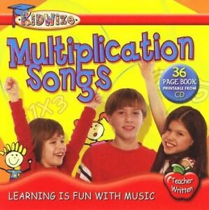 Multiplication Songs Kidzup 2003 CD Learning Is Fun With Music