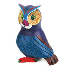 Owl Oaxacan Alebrije Wood Carving Folk Art Sculpture Damian & Beatriz Morales