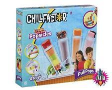 CHILL FACTOR PULL POPS POPSICLE MAKER GIFT SET