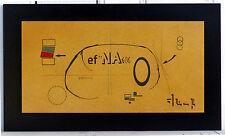Polyphonie Cervicale - acrylique et crayon sur bois - Abstrait