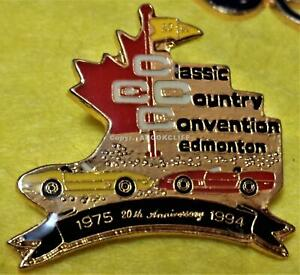 1994 20th CCCC CLASSIC COUNTRY CONVENTION CORVETTE OWNERS EDMONTON Pin Mint