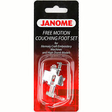 Free Motion Couching Foot Set #202110006 For Janome Sewing Machines