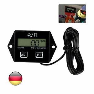 Digital Drehzahlmesser Tachometer LCD Motorsäge 2/4 Takter LCD Kettensägeandere
