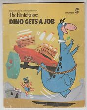 Hanna Barbera THE FLINTSTONES Dino Gets A Job 39023 1974