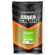 Sonubaits Supercrush Green 2kg Ground Bait Coarse Match Fishing