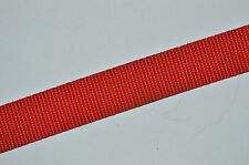 RED WEBBING STRAP HEAVY DUTY STRAPPING 25MM - CLEARANCE ITEM