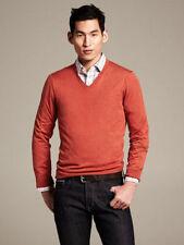 Banana Republic M V-Neck Regular Size Sweaters for Men