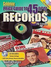 Goldmine Price Guide to 45 RPM Records, 7th Edition, Popoff, Martin, Good Book