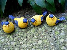 3rd Small Resin Goldfinch Bird Figurine (1 bird only)