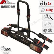 Naos Eco von MENABO Fahrradträger Anhängerkupplung 2 Fahrräder Fahrradheckträger