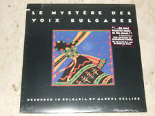 Le Mystere des Voix Bulgares The Mystery of Bulgarian Voices SEALED Nonesuch LP