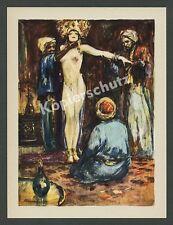 Lutz Ehrenberger Frau Sklavin Harem Akt nackt Erotik Orient Basra Persien 1925