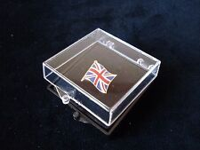Union Jack Flag Lapel Pin - Superior High Quality Gift Presentation Boxed