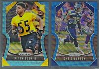 2019 Panini Prizm Football BLUE WAVE Parallel /199 Complete Your Set - You Pick!
