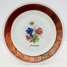 Vintage Bareuther Waldsassen Bavaria Innsbruck Plate Floral