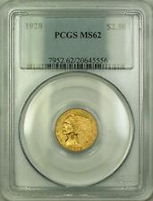 1928 Indian $2.50 Gold Coin PCGS MS-62