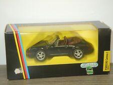 Porsche 911 Carrera 2 Cabrio - Schabak 1110 Germany 1:43 in Box *42914