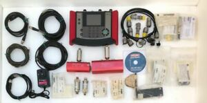 HYDAC ELECTRONIC HMG 3000 PORTABLE DATA RECORDER W/ACCESSORIES #NO BACKLIGHT