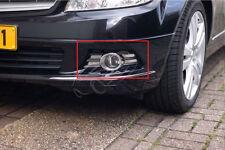 Chrom Nebelscheinwerfer Blenden für Mercedes W204 C-Klasse