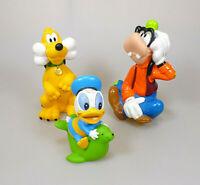 Disney Goofy Pluto & Donald Baby Weichplastik 3 Sammelfiguren ca. 9,5 - 13,5 cm