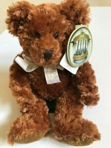 BNWT 100 YEARS Celebration Anniversary RUSS TEDDY BEAR Collectors Handcrafted