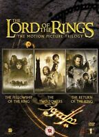 LORD OF THE RINGS Trilogy Complete Collection Box Set Part 1+2+3 UK Region 2 DVD