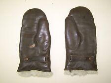 Seltene alte Motorradhandschuhe, Handschuhe für Oldtimer Motorrad, Leder