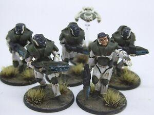 Gates of Antares Stargrave Concord Infantry squad B