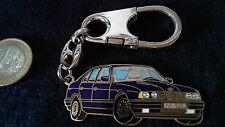 BMW M 535 i Schlüsselanhänger Motiv Auto dunkelblau Keyring