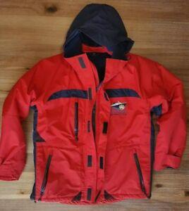 MINERVA ANTARTICA Peninsula Parka Ship to Shore Traveler Jacket Men's Small Red