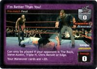 SS3 Throwback Lightly Played Raw Deal for Chris Jericho WWE: Jerichoholics