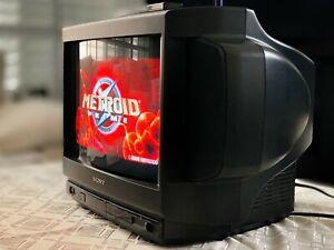 SONY TRINITRON  KV-1670MT Gaming Retro Arcade 🔥RARE🔥 CRT TV Monitor