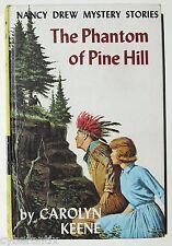Nancy Drew 1965 First Edition Book Phantom of Pine Hill Hardcover #42 PC Vintage
