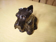 "Collectible Scottie Dog Bottle 1970 ""Black&White"" Blended Scotch Whisky - Black"