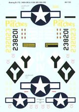 MICROSCALE DECALS 1/48 BOEING B-17G Flying Fortress #ss481123