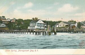 NARRAGANSETT BAY RI – Silver Spring – udb (pre 1908)