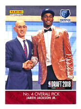 2018 PANINI INSTANT DRAFT JAREN JACKSON JR RC FIRST NBA ROOKIE CARD SP/285 LIVE!