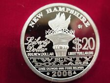 2006 one ounce Norfed round New Hampshire hallmarked - rare