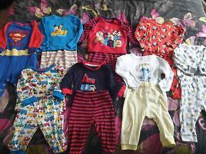 baby boy pyjama bundle 6-9 months george primark