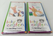 Baby Einstein ~ Baby Bach & Beethoven Musical Adventure DVD NEW Lot of 2 NOS