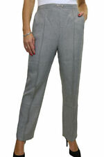 Viscose Mid Rise 28L Trousers for Women