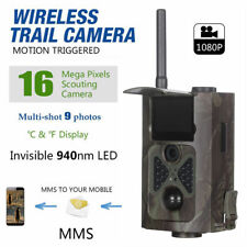 3G GPRS MMS Hunting Camera Wireless Control JS055G Infrared IR Trail Camera