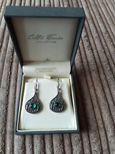 Celtic Warrior Collection Earrings Sterling Silver Made In Ireland