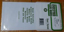 "Evergreen Styrene #4060 Siding Sheet, V-Groove .040"" Thick -- .060"" Spacing"