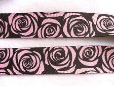 1 m Gurtband Taschenhenkel Henkel Rosen 30 mm