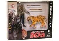 "The Walking Dead EZEKIEL and SHIVA Tiger 5"" Action Figure McFarlane 2014"