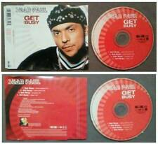 CD Singolo Single Sean Paul Get Busy REGGAE DANCEHALL 2003 no lp mc(S1)