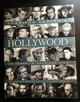 Signed 1st Edition 1st Printing CHARLTON HESTON'S HOLLYWOOD ~ 1998 HC DJ Film