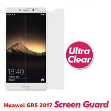 Plastic Screen Protector for Huawei Gr5 2017/honor 6x/mate 9 Lite - Clear